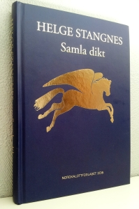 """Helge Stangnes """"Samla dikt""""."""