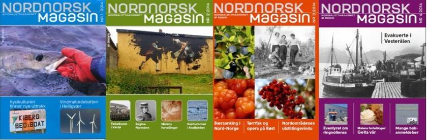 Nordnorsk Magasin årgang 2014.