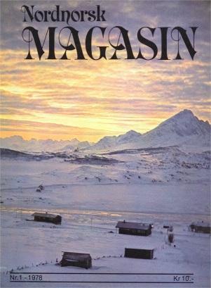 Framsida til den første utgaven av Nordnorsk Magasin, 1-1978.