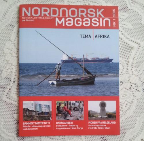 Temautgave, Nordnorsk Magasin 1-2015. Afrikanske land sett nordfra.