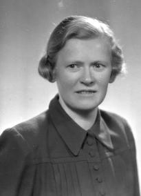 Margarethe Wiig (1903-2002) lagde den første norsk-samiske ABC-boka for skoleverket. Foto: Sigurd Skjegstad/Museum Nord