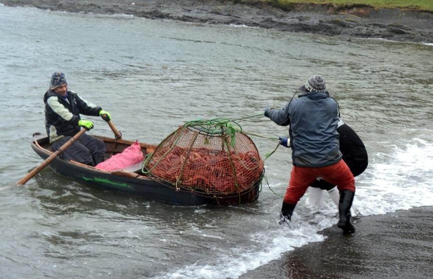 Kongekrabbefiskeriet er viktig for kystfiskerne i Patagonia. Foto: Jahn Petter Johnsen, oktober 2016
