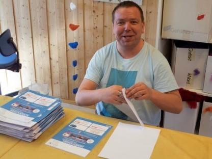 Arild Berntsen, Bakkely. Foto: Jann-Oskar Granheim