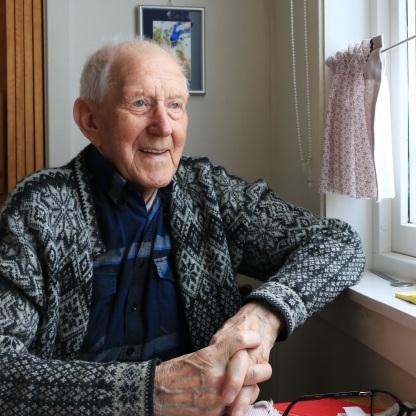 Werner Jørgensen, Sandsøy. Foto: Liv-Karin Edvardsen
